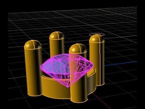 Basic Rhino for Jewellery round kolet rhino cad matrix gemvision