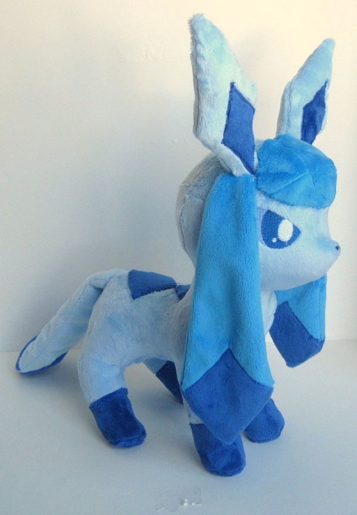 Glaceon plush by *FollyLolly on deviantART | Plush ...