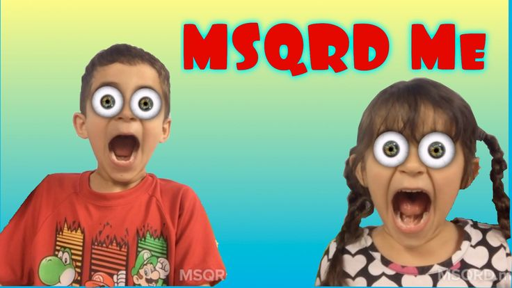 MSQRD app Fun Mask Filter iPhone #MSQRD Kid Friendly Toys