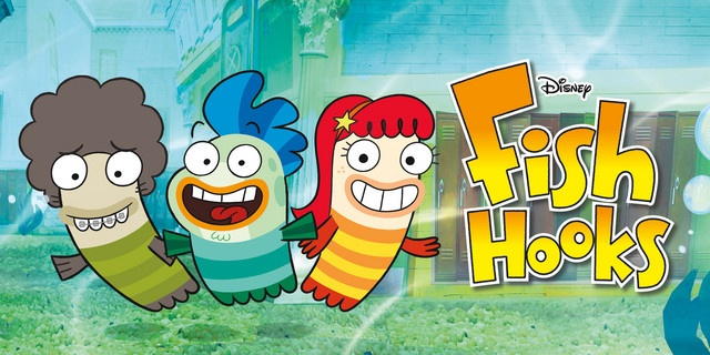 32 best images about series animaci n on pinterest for Fish hooks show