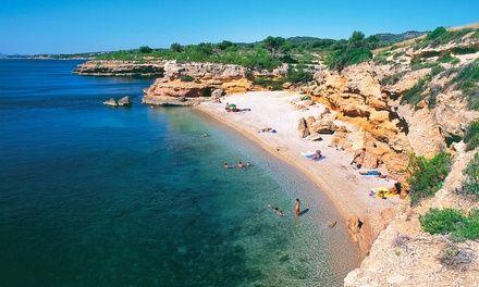 camping Ametla de Mar à L'Ametlla de Mar : 7 nuits en camping 4* avec espace aquatique sur la Costa Dorada: #L'AMETLLADEMAR 139.00€ au lieu…