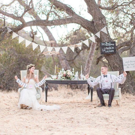 Elfenbein Hochzeit Ammer aus Baloolah perfekte von BaloolahBunting