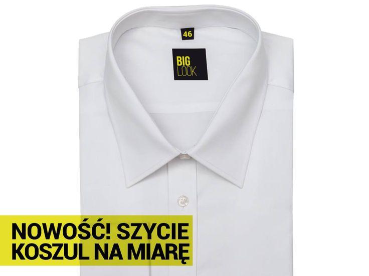 Miło nam poinformować, że już od teraz w salonach BigLook mogą Panowie zamówić uszycie koszuli na miarę! Nasze koszule szyte są z najlepszych włoskich materiałów, w kilkudziesięciu wzorach i rodzajach tkanin. Nasi styliści wykonają wszystkie niezbędne pomiary, przedstawią wzornik tkanin i zaprezentują przykładowe modele koszul. Zakup koszul na miarę to zawsze idealny wybór dla ceniących sobie najwyższą jakość i komfort noszenia, a także indywidualny styl. Zapraszamy do naszych salonów!