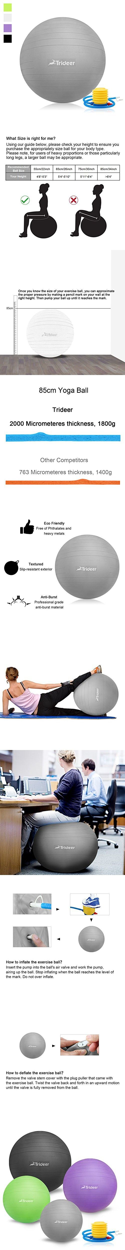 246 best Fitness Ball Pump images on Pinterest