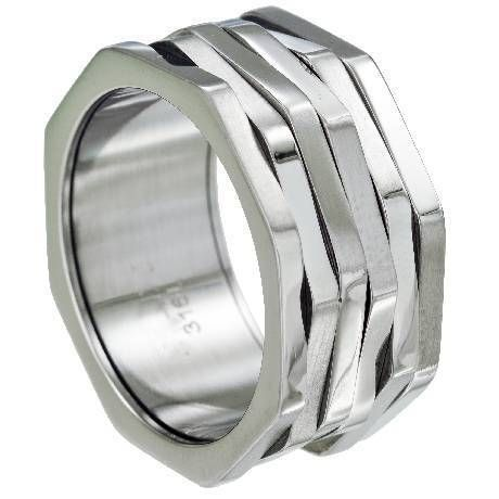 For the people who like spinner rings, this 316L octagonal shaped ring is one to add to your collection. $28.95