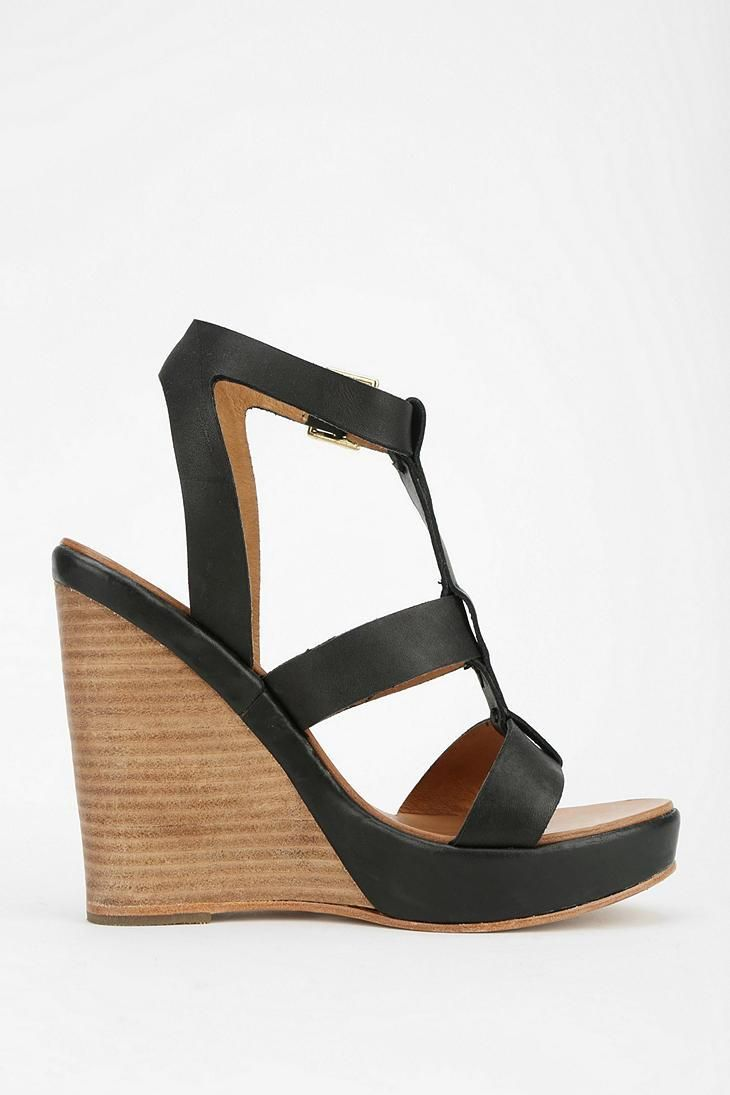 Shop Steve Madden Iris Caged Platform Sandal at Urban Outfitters today.