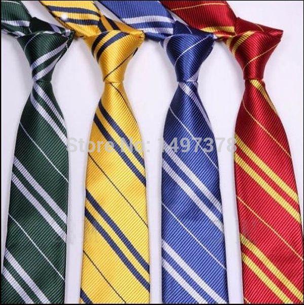 Barato Harry Potter gravata grifinória sonserina Ravenclaw Hufflepuff traje acessório, Compro Qualidade Laços & Lenços diretamente de fornecedores da China:              Harry Potter Skinny partido gravata NOVO                 Marca: novo                Tema: