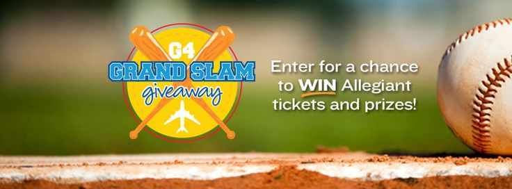 Check out Allegiant Air's G4 Grand Slam Giveaway!