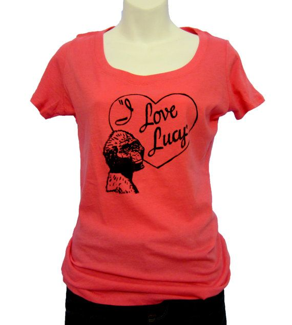 I love Lucy, Australopithecus afarensis - Anthropology nerd t-shirt - Funny gift for her