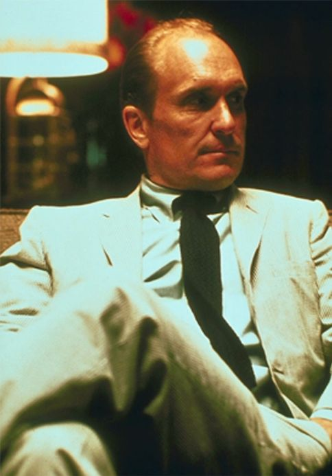 Robert Duvall, the actor's actor. Best in his understated natural roles like his role in the GodFather.
