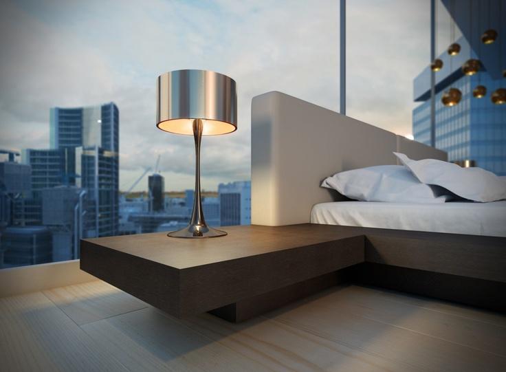 Modern Platform Bed Store - Worth Platform Bed - Full (Wenge/Dusty Grey), $1,399.00 (http://www.modernplatformbedstore.com/worth-platform-bed-full-wenge-dusty-grey/)
