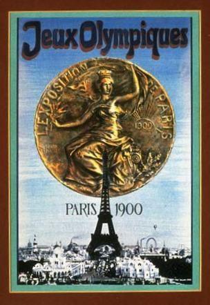 Paris France 1900 Olympics