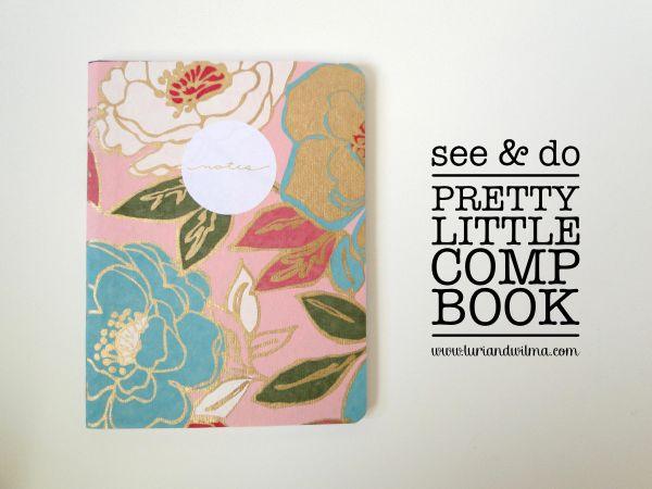 Pretty little #DIY notebook from @Mandy Pellegrin