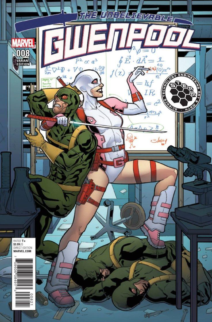 Marvel - Gwenpool (2016) #8 Will Sliney Variant