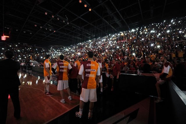 Galatasaray - Efes - 22 FEB 2012 - Euroleague