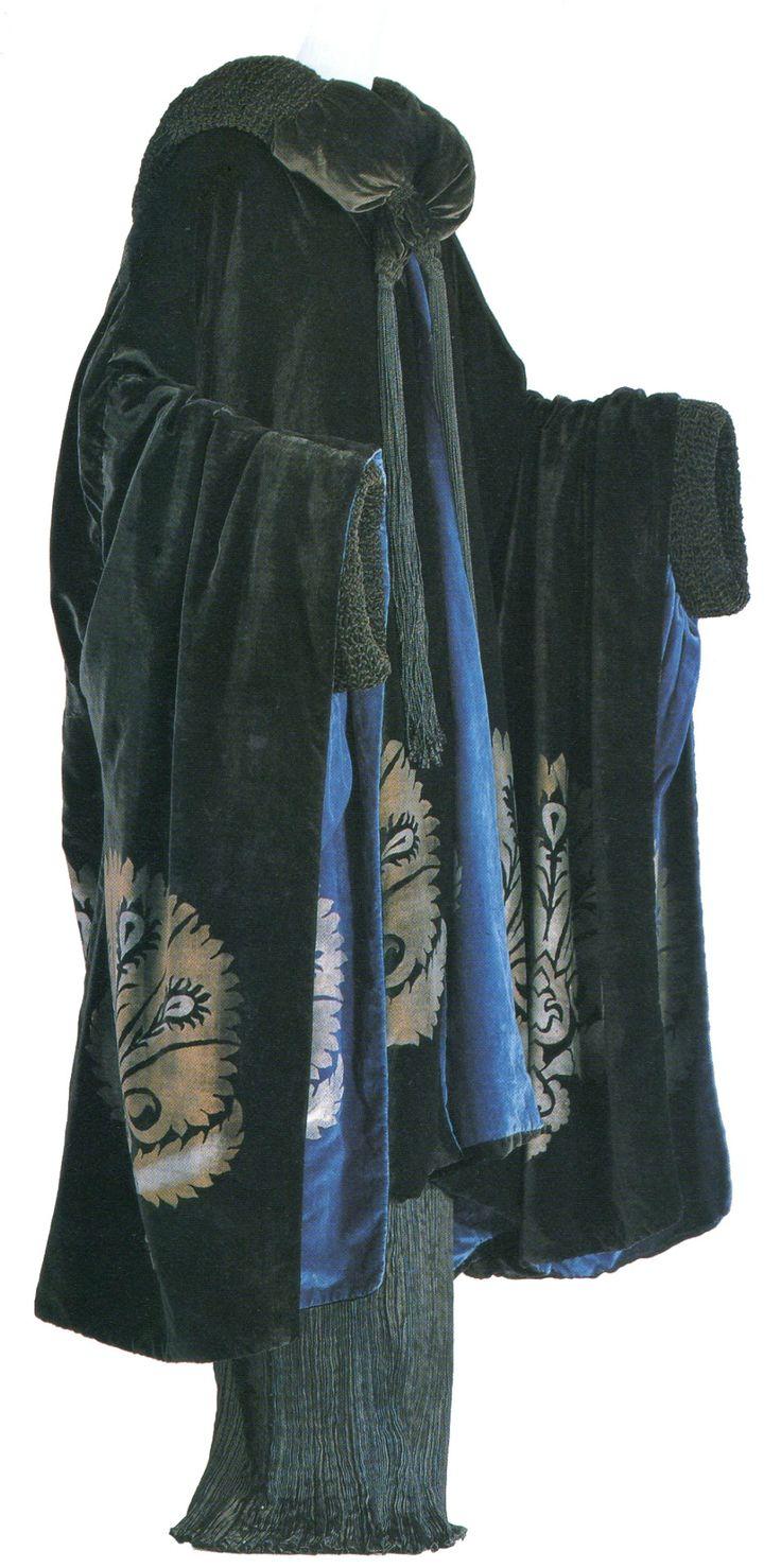 Maria Monaci Gallenga, Evening Coat, 1922. Kyoto Costume Institute