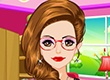 Cute Geeky Girl Makeover | Dress up games | Games for Girls | Monster High Games | Makeover games