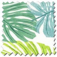 Havana Eucalyptus Green Roman Blinds