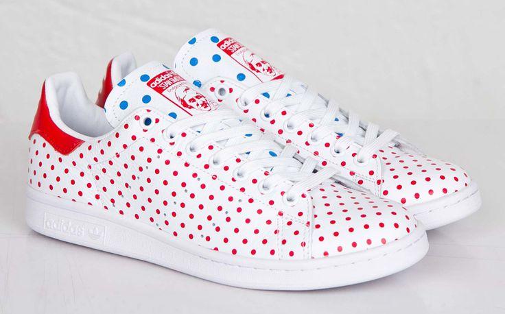 "Pharrell Williams x adidas Stan Smith ""Red Polka Dot"""