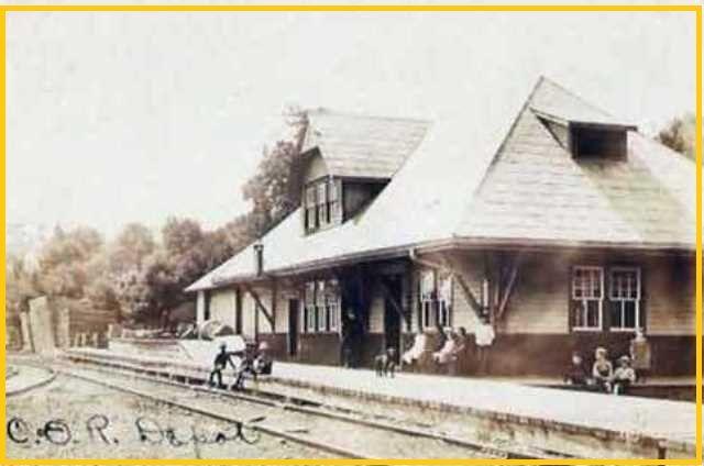 BANCROFT, Ontario - Central Ontario Railway Rail Depot