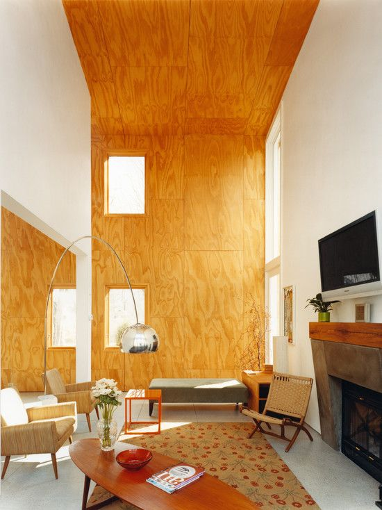 13 best Plywood ceiling and walls images on Pinterest   Plywood ...