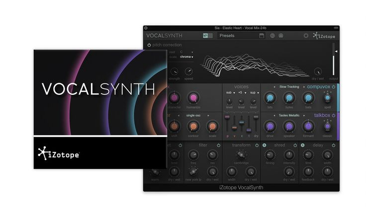 Inspired by decades of iconic vocal effects, from Peter Frampton to Beastie Boys to Daft Punk, iZotope, Inc. today announced the release of VocalSynth, a new creative plug-in for music producers an…