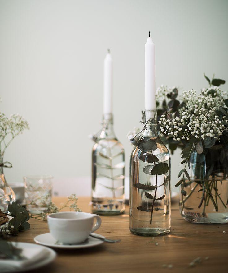 KORKEN Flasche mit Verschluss – Klarglas