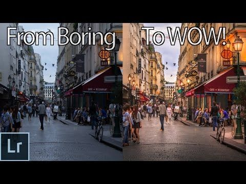 (7) How to Turn a Boring Photo Into an Awesome Image With Lightroom! - Lightroom Photo Editing - YouTube