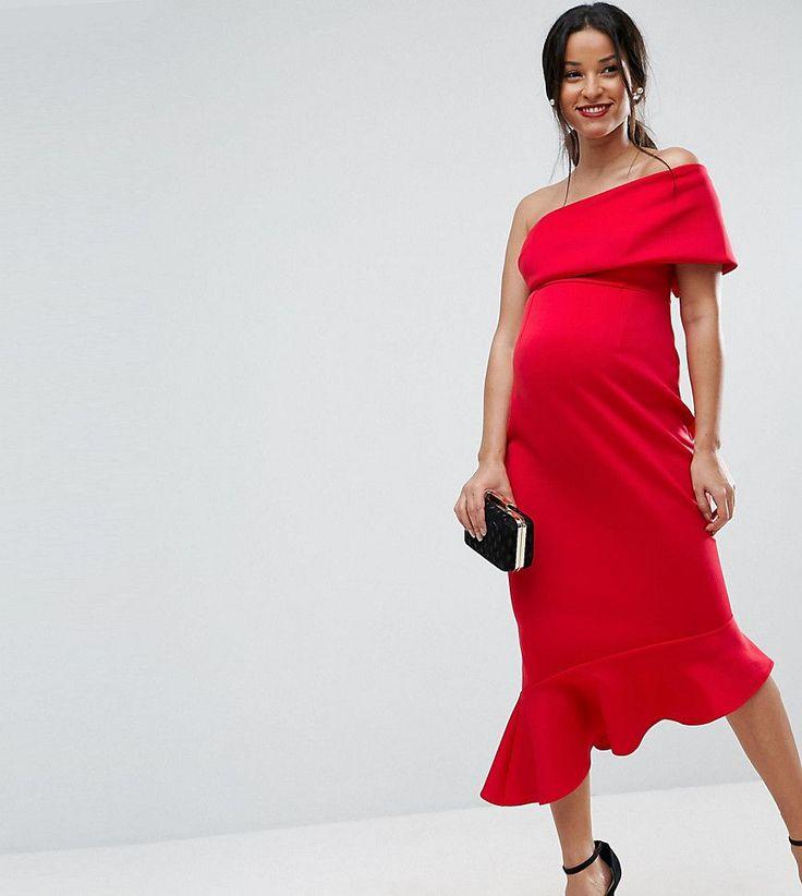 Kleid rot schosschen