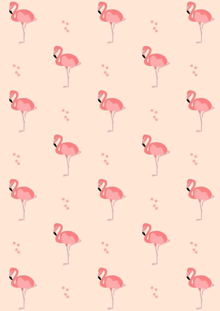 Free digital flamingo scrapbooking paper - ausdruckbares Geschenkpapier - freebie | MeinLilaPark – DIY printables and downloads