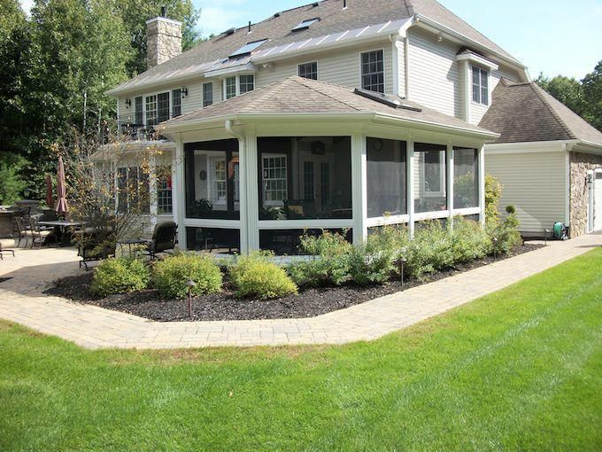 Average Construction Estimate For A Completely New Screened In Porch Is About 70 Sf Therefore A Basic P Screened In Porch Cost Porch Cost Deck Building Cost