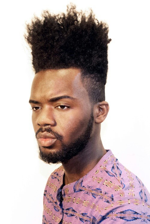 High Top Fade And Beard Hi Tippity Top Pinterest