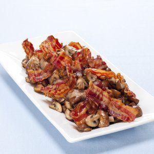 Leverpostej med bacon og champignon opskrift
