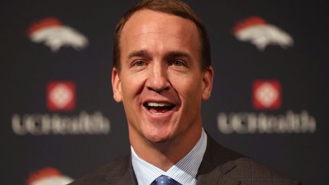 March 24 marks Peyton Manning's 40th birthday.