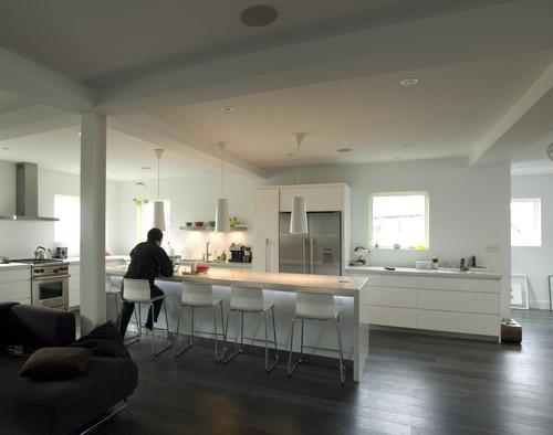 Modern Live / Work Loft - modern - kitchen - toronto - Elevation Architects Inc