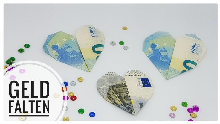 Geldscheine Falten Herz Good Geldscheine Falten Herz Euro Euro Geld