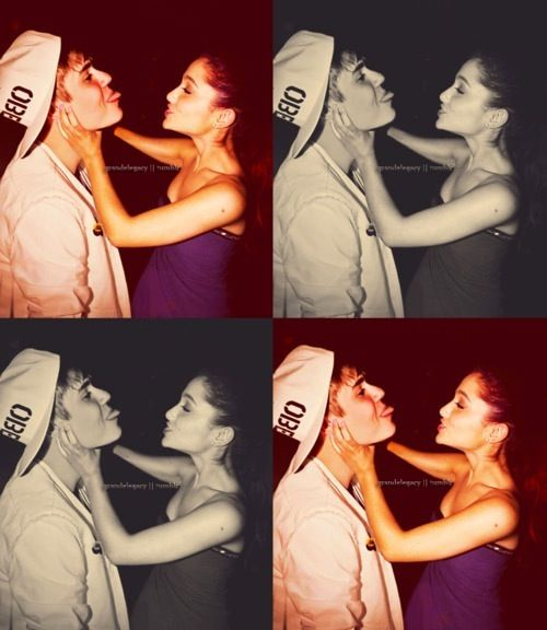 Ariana Grande and Justin Bieber jariana :p