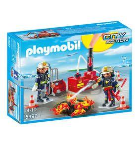City Action Brandeinsatz mit Löschpumpe 5397