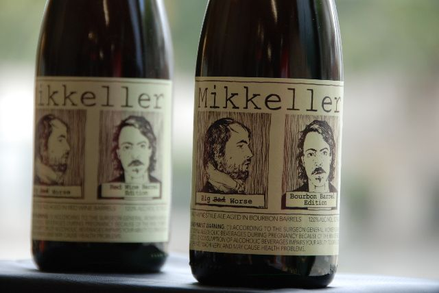 Made this beer label for Mikkeller some years ago.