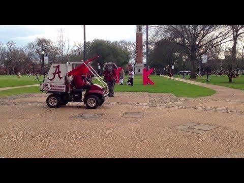 Alabama Harlem Shake Fail at the University of Alabama