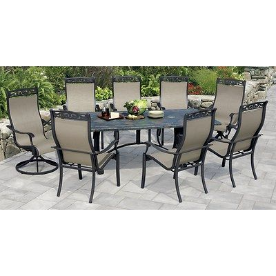 Fresh Air, Delicious Food And Excellent Company Are The Only Things Youu0027ll  Need To Make This Dining Set The Focal Point Of Your Backyard. The 6 Slin