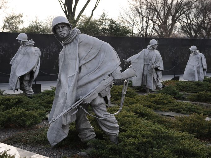 6. Korean War Veterans Memorial, Washington, D.C. -