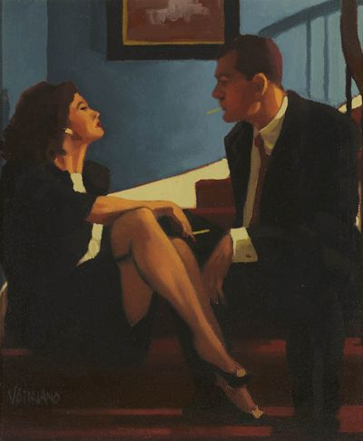Jack Vettriano - Playing the Party Game II