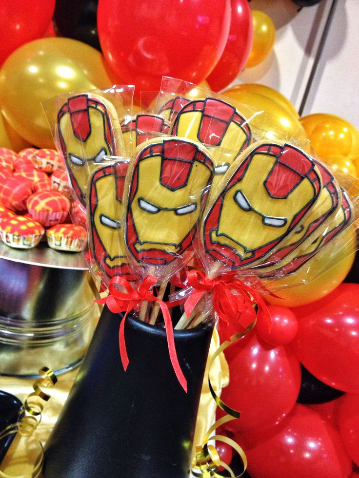 Ironman Themed Party Dessert Table Amp Candy Bar Iron