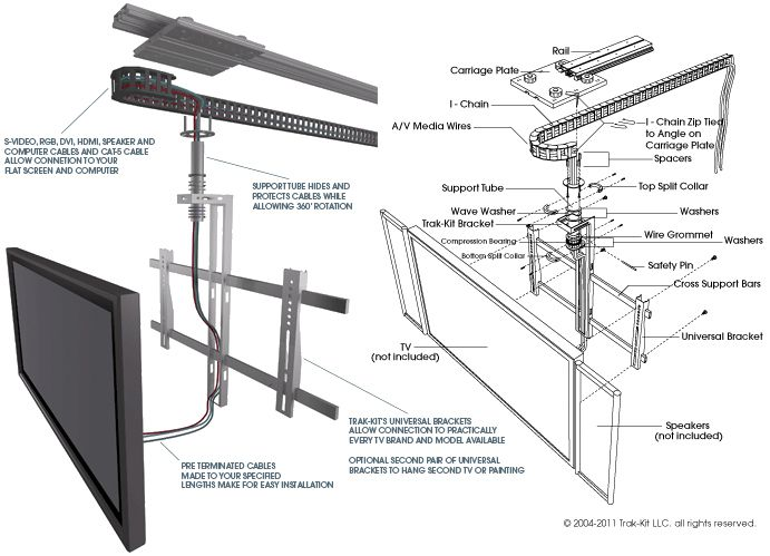 flip down tv wiring diagram   27 wiring diagram images