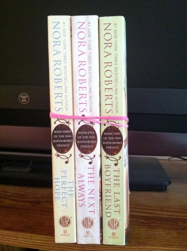 Nora Roberts: The Inn Boonsboro Trilogy