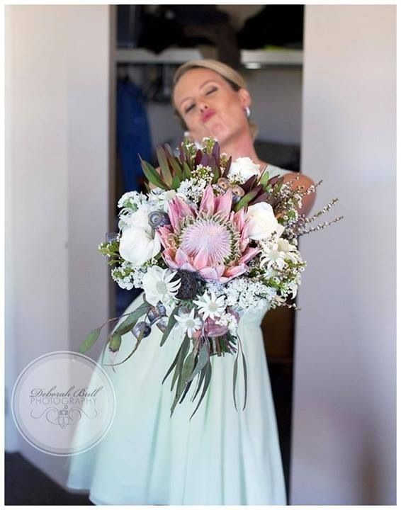 Love working with Aussie natives. This wedding was so much fun to make the flowers for. Email us for a quote.... Tillevaweddings@gmail.com