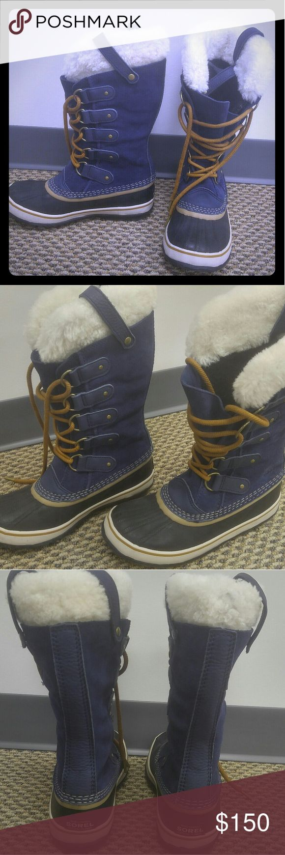 Brand new!!!Sorel snow boots...worn once! Perfect condition! Sorel Shoes Winter & Rain Boots