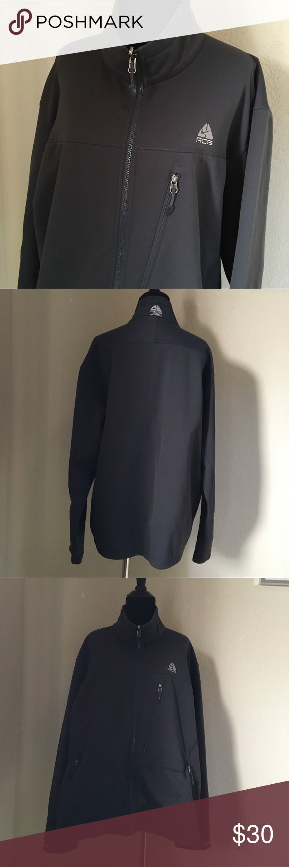 Men's Nike Fit Therma Zip Up Jacket DETAILS: Dark Gray Men's Long Sleeve Nike ACG Fit Therma Zip Up Jacket  CONDITION: Excellent  SIZE: Men's XL  SHIPS QUICKLY! same or next business day if purchased before 12pm PST / 1-2 business days if after 12pm PST Nike Jackets & Coats Lightweight & Shirt Jackets
