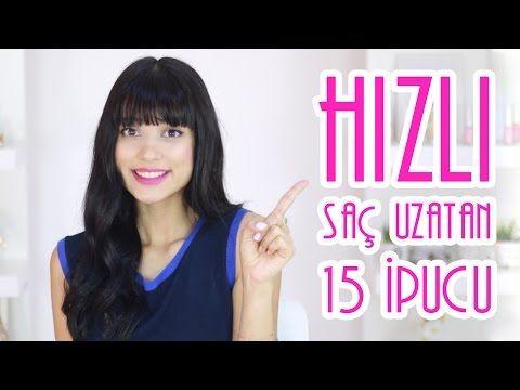 Hızlı ve Sağlıklı Saç Uzatan 15 İpucu - YouTube